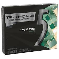 amazon com 5 gum sweet mint sugarfree gum 15 piece 10 packs
