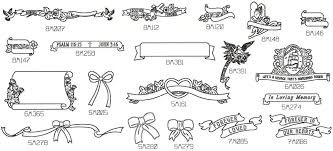 design a headstone engraved books and engraved ribbon designs for headstone memorials