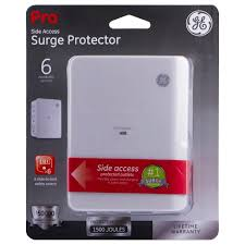 ge surge protector red light ge low profile 6 outlet surge protector 10353 target