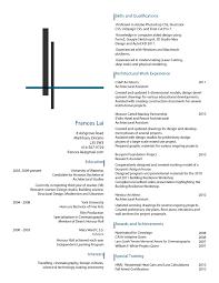 Architecture Student Resume Sample by Architect Resume Pdf Contegri Com