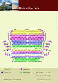 Vienna Opera House Seating Plan by Deutsche Oper Berlin Schedule Program U0026 Tickets