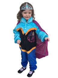 frozen elsa anna queen princess costume party dress