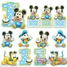 mickey mouse 1st birthday mickey mouse 1st birthday ebay