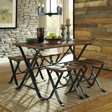 10 chair dining room set signature design by ashley freimore 5 piece rectangular dining