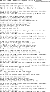 save it for the bedroom lyrics love song lyrics for we just dont care john legend with chords