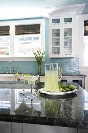 Blue Tile Kitchen Backsplash 143 Best Kitchens Images On Pinterest Kitchen Ideas Kitchen And