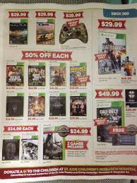 ps4 black friday leaked gamestop black friday flyer has xbox one on page 2 ps4 on
