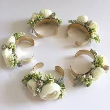 wrist corsage bracelet pinned vs wrist corsages heathers glen wedding event center