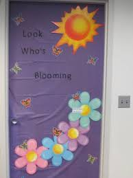 Easter Classroom Door Decorations Pinterest by Spring Door Decoration Door And Wall Decorations Pinterest