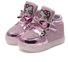 free shipping kitty led light kids shoes quickshopville
