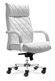 White Leather Arm Chair Decor Design For White Leather Executive Office Chair 91 Flash