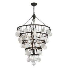 Home Depot Bronze Chandelier Crystal Bronze Incandescent Chandeliers Hanging Lights