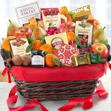 gourmet gift basket tidings deluxe gourmet gift basket aa5005 a gift inside