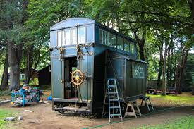 Tiny Home Movement by Steampunk Steamer Trunk A Tiny House Contraption On Wheels New