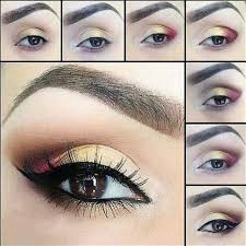 step by step eye makeup for wedding