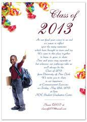 8th grade graduation invitations 2014 5th grade elementary graduation invitation exle 5x7 in