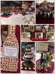 wine themed bridal shower swiping s cork board