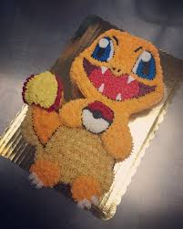 Charmander Cupcake Cake My Work Pinterest Cake Birthdays