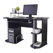 bureau informatique noir bureau informatique noir myco00446 achat vente bureau bureau
