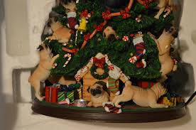 pug christmas tree rare hard to find danbury mint lighted what u0027s