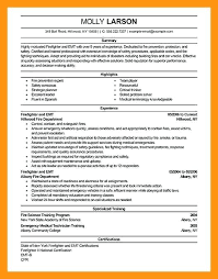 paramedic sample resume entry level sample resume example this