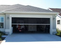Garage With Screened Porch Sliding Garage Door Screen
