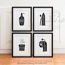 bathroom artwork ideas printable bathroom wall from the crown prints on etsy lots