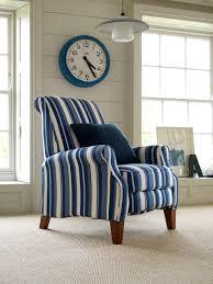 Blue And White Striped Slipcovers Multiyork Ambleside Recliner Chair In Myk Henley Regatta Stripe