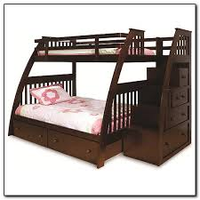 Bunk Bed With Stairs Themoatgroupcriterionus - Full bunk bed with stairs