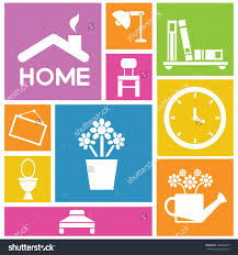 home interior stock vectors vector clip art shutterstock design