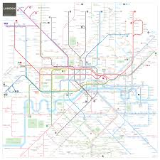 New York Tube Map by London Underground Tube Map Has Been Redesigned By Inat And We U0027re
