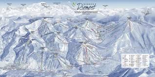 Notre Dame Campus Map Bergfex Skigebiet Notre Dame De Bellecombe Espace Diamant