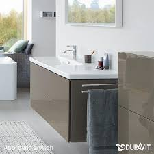Duravit Bathroom Cabinets by Duravit L Cube Vanity Unit With 2 Pull Out Compartments Front