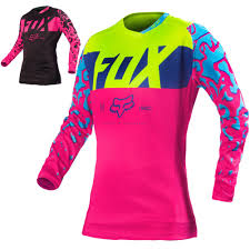 womens motocross jersey fox racing 180 kids girls off road dirt bike racing motocross