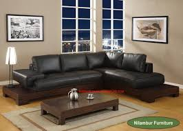 Accent Chair With Brown Leather Sofa Dark Brown Leather Sofa Elegant With Wooden Antique Table On