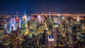 New York scenery images New york usa city night lights skysc wallpaper 17530 jpg