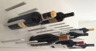 amazing modern wine rack in kitchen laluz nyc home design