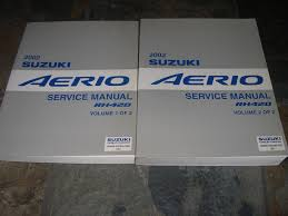 100 pdf service manual for suzuki aerio 2006 suzuki aerio