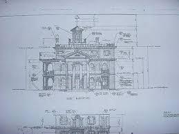 mansion blue prints disneyland haunted mansion blueprints 23 sheets for sale