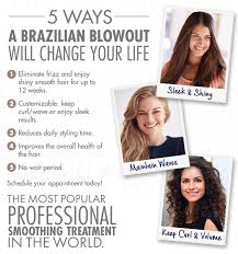 brazilian blowout results on curly hair brazilian blowout