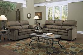 furniture gallant sage green leather sofa comfortably occupied