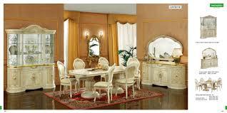 classic italian dining room set leonardo esf