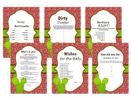 western baby shower game bandanna activity cowboy baby shower