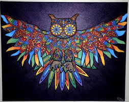 images of painting of owls wallpaper sc