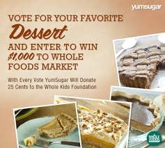 thanksgiving dessert recipes whole foods market gift card