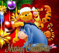 winnie pooh merry christmas learntoride