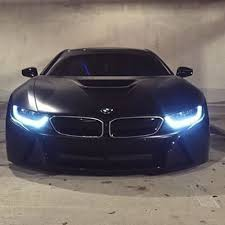 bmw car in black colour looking matte black i8 by lordmcdonnell cars