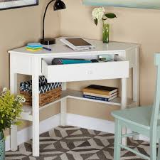 corner writing desk multiple finishes walmart com