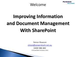 information and records management in sharepoint an in depth review