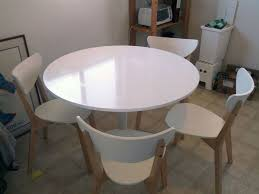 ikea docksta dining table with 4 nordmyra chairs u2014 fixed price